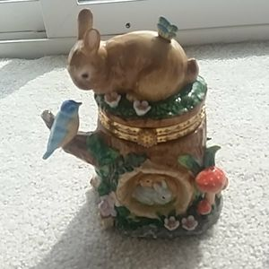 Other - 🐇Brown Bunny Ornamental Box